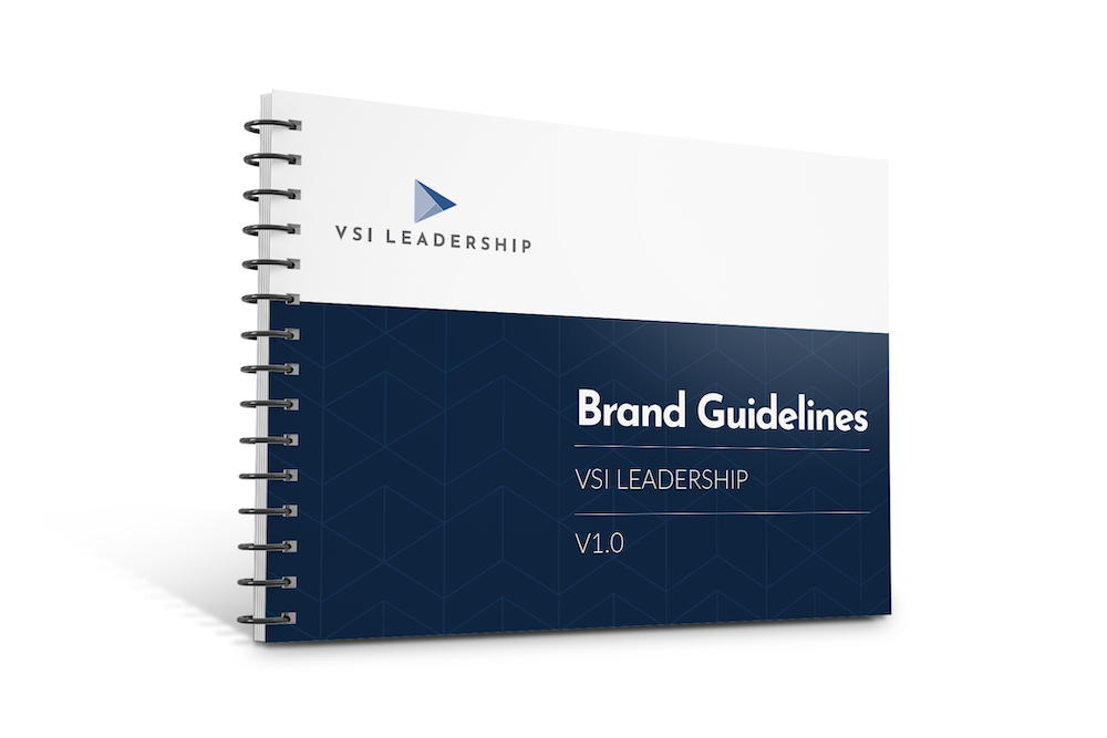 Brand Guidelines mockup to give businesses marketing direction.